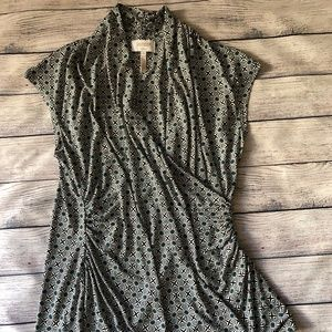 Laundry By Shelli Segal Sleeveless Wrap Top Size M